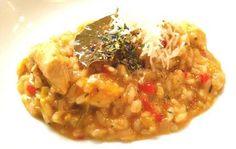 Paprika Risotto mit Hühnerfleisch!