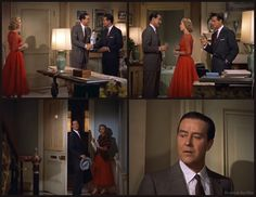 Dial M for Murder: Ray Milland, Grace Kelly, and Robert Cummings