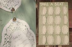 Love DIY Wedding Blog: Love DIY - Ültetési rend ötletek esküvőre