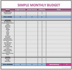 Monthly finance spreadsheet intended for monthly bills spreadsheet template Household Budget Spreadsheet, Monthly Budget Spreadsheet, Household Budget Template, Budget Planner Template, Monthly Budget Worksheet, Budgeting Worksheets, Budget Templates, Budget Worksheets Excel, Budgeting