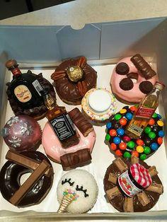 Donut Recipes, Snack Recipes, Dessert Recipes, Snacks, Delicious Donuts, Delicious Desserts, Yummy Food, Donuts Donuts, Food Png