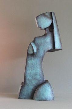 Pottery Sculpture, Sculpture Clay, Metal Sculptures, Ceramic Wall Art, Modern Sculpture, Oeuvre D'art, Modern Art, Pop Art, Richard Serra