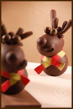 Chocolate sculpture -Stephane Leroux