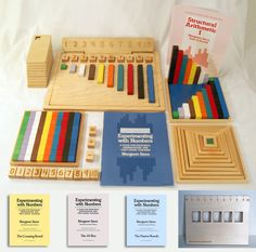 Stern Structural Math products.  Great tools and workbooks for teaching math