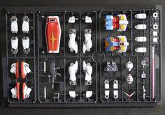 聯邦隊長のりょういき: FG RX-78-2 Gundam 板件上色