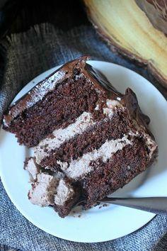 Cakes - Chocolate on Pinterest | Black forest cake, Bolo de chocolate ...