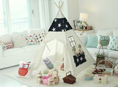 EBK004 Children Indiantent Teepee Kid Playhouse | eBay