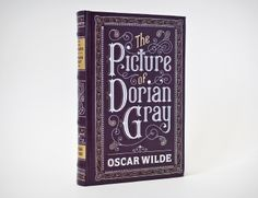 Jessica Hische's Book Cover for The picture of Dorian Gray.