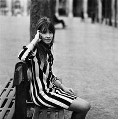 Françoise Hardy forever. Via Into the Gloss tumblr.