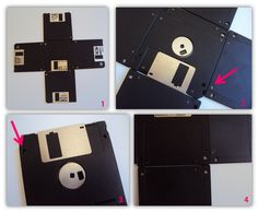 Reciclar disquete e suas inúmeras possibilidades!