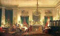 Napoleon III's cousin, Princess Mathilde's salon was frequented by the intelligentsia of the time,