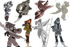 My favorite original character to draw is enna's legs art ди Character Poses, Character Design References, Character Drawing, Character Concept, Concept Art, Art Poses, Drawing Poses, Animation Reference, Drawing Reference