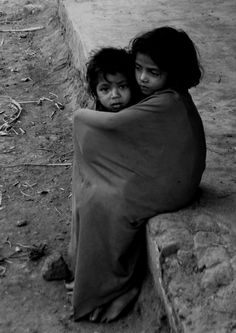 I just imagined this is my sister and I. Let's be gratefull for what we have