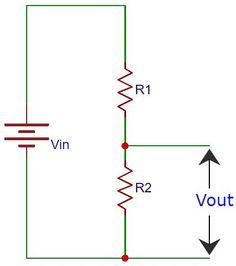 Voltage Divider Circuit Diagram