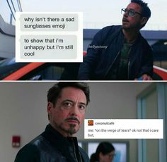 Iron man tony stark text posts tumblr avengers marvel characters
