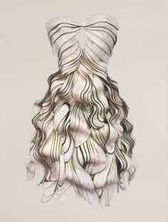 An eggplant dress from Korean artist, Yeonju Sung's wearable food series. This is amazing Stunning Dresses, Nice Dresses, Awesome Dresses, Gorgeous Dress, Food Design, Web Design, Creative Design, Costume Original, Textile Manipulation