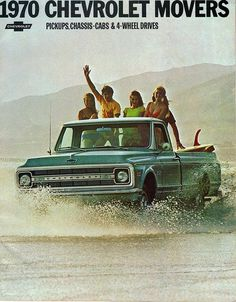 1970 Chevrolet Pickup Truck - Love this ad!