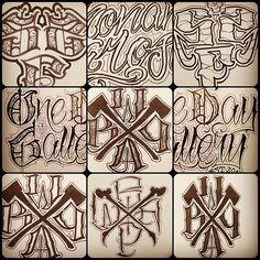 Some logos ✏ #script #lettering #logo #wabp #ssf #odg