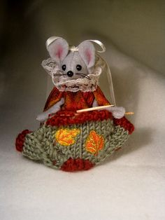 Knitting a Sweater for Fall by atticmouse on Etsy, $10.00