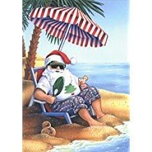Beach Christmas Cards! Discover the best coastal christmas cards and coastal holiday decor.
