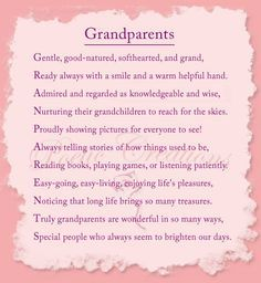 Difference between grandparents time