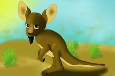 Tiny Kangaroo with goatie