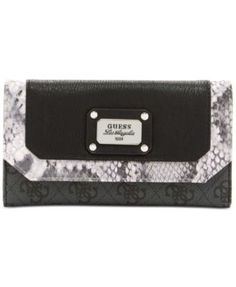 db1894a25b GUESS Escapade Slim Clutch Wallet   Reviews - Handbags   Accessories -  Macy s