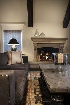Warm tones living room Design // Austin Bean Design Studio Photography // Melissa Lukenbaugh