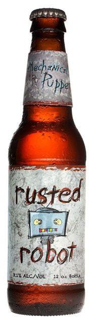 rusted robot by Jonathan Greer, via Behance