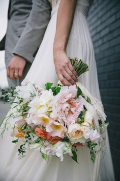 stunning spring bouquet by Poppies & Posies