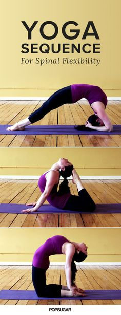 Want a more flexible body? Then definitely try this yoga sequence!