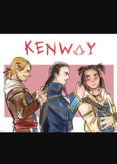 Kenway family ~ all credit goes to artist ~