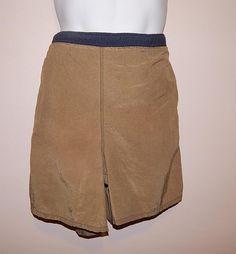 Mens swimming suit trunks shorts speedo multi color mesh sz XL #speedo #SwimBriefs