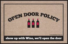 Do you have an open door policy?