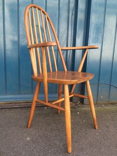 A personal favourite from my Etsy shop https://www.etsy.com/uk/listing/400894345/1970s-beech-and-elm-carver-arm-chair