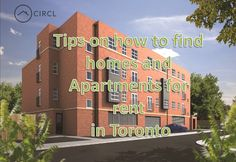 My go-to rental websites as Circlapp.com where you find homes and Apartments for rent in Toronto. Location and price are the most important factors when deciding on a place, and their search criteria make it really simple to narrow down your options.