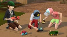 Mod The Sims - Playable Toy Cars