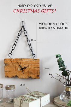 cool wood clock by FNRwood