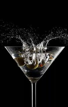 Time for a splash of alcohol!