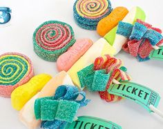 Artículos similares a 10 Holiday Sweet Skewers en Etsy