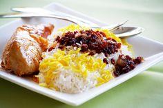 Edible Moments: Persian Cuisine: Part 1-Zereshk Polo O Morgh