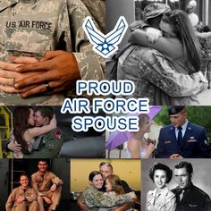 Repin if you're a proud Air Force spouse! What's your favorite part of military life?