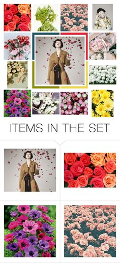 """""""Spring is here!"""" by vassiascissors ❤ liked on Polyvore featuring art"""