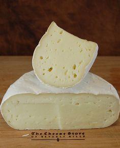 Tuscany, Italy. A percorino fresco (fresh young sheep's milk) cheese ...