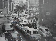 Salida calle Don Jaime a Plaza España. Años 60