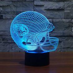 NFL JACKSONVILLE JAGUARS 3D LED LIGHT LAMP