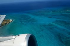 Airplane view - San Andres
