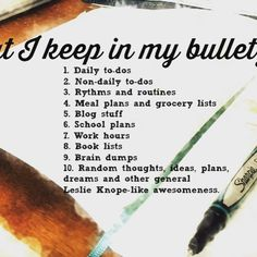 I'm sharing my newest obsession today...bullet journaling. ~ sounds so great!! // quill and camera