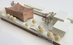 URBAN AGENCY / Kronberg School of Music Architecture Student, Concept Architecture, Beautiful Architecture, Interior Architecture, Landscape Model, Arch Model, Sustainable Design, Design Model, Proposal