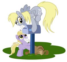 MLP:FiM Derpy's number one assistant by *Zoithedragon on deviantART